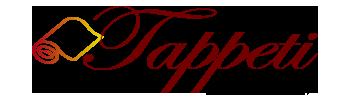 λογότυπο για την εταιρία tappeti.gr καθαρισμοί χαλιών, πλύσιμο παπλωμάτων